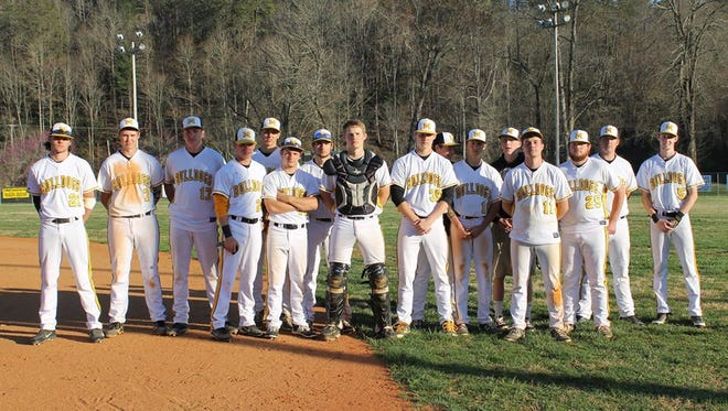 Murphy's baseball team clinched the Smoky Mountain Conference championship on Tuesday.