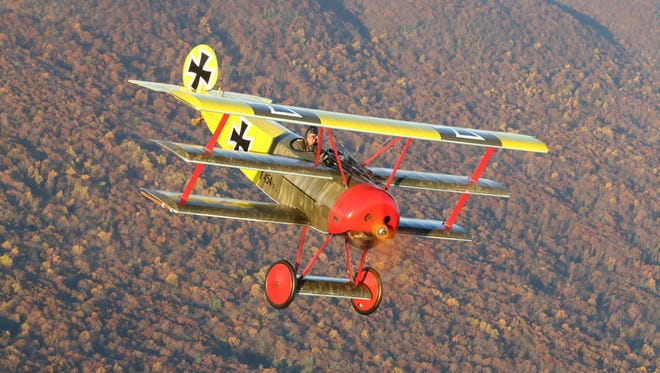 The Fokker Dr. I will participate in the World War I aviation centennial at EAA AirVenture Oshkosh 2016.