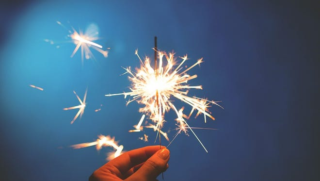 Sparklers account for a significant number of injuries among children younger than 5.