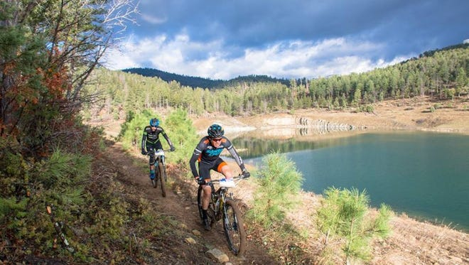 The addition of mountain biking trails in Ruidoso attracts professional bikers like Josh Tostado who wrote a recent blog about the area.
