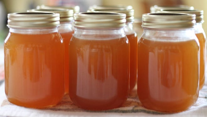 Jams and jellies are a good way to preserve the season.