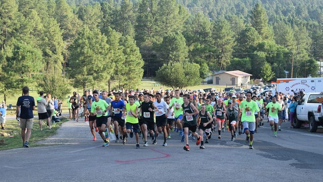 This year's Grindstone Trail Run drew 360 competitors from New Mexico and surrounding states.