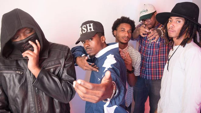 CAP 6, consisting of Intricate, Hakeem Furious, CRIMSON, Rob OHTIS and Donny Blot, have established themselves in Tallahassee's art scene
