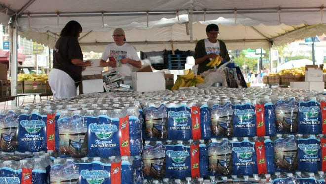 Absopure in Plymouth has donated 8,500 gallons of free bottled water to the HealthPlus Crim Festival of Race in Flint.