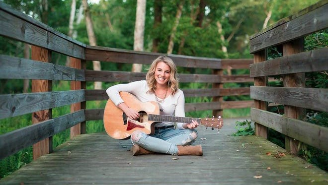 """Olivia Farabaugh, a Palmyra resident who competed on """"The Voice."""""""