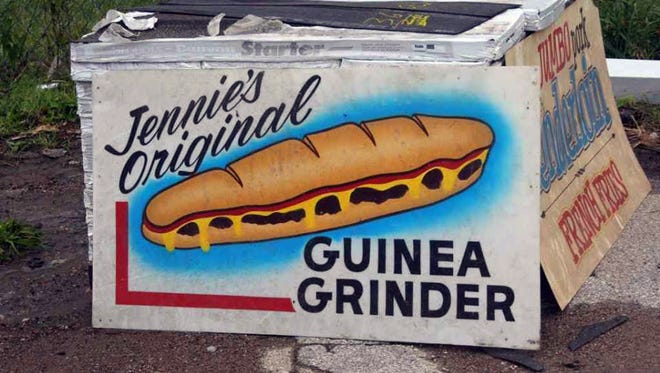 Paraphernalia from the original Jennie Grinder stand, a popular Iowa State Fair staple, are being auctioned off after the death of family matriarch JoAnne Sample.