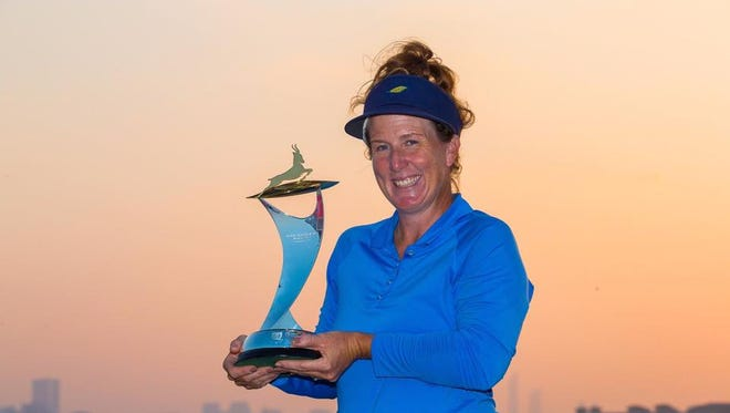 Ojai native Beth Allen won her second event this season on the Ladies European Tour, winning the inaugural event in Abu Dhabi. It was her third career win.