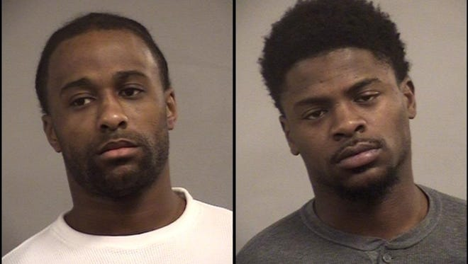 Willie Owens, left, and Cordarius Owens, right