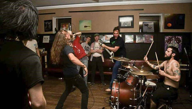 Cannabyss is a death metal band from Panama City and consists of Reese Curtis (vocals), Austin Cornette-Finch (drums), Matt Guidry (bass) and Christopher Thomas (guitar).