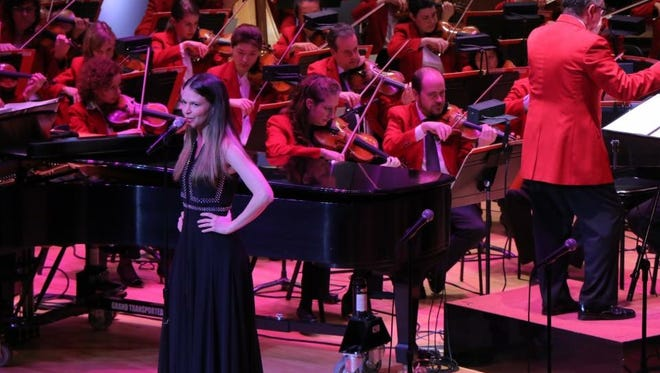 Sutton Foster joined the Cincinnati Pops with John Morris Russell conducting.