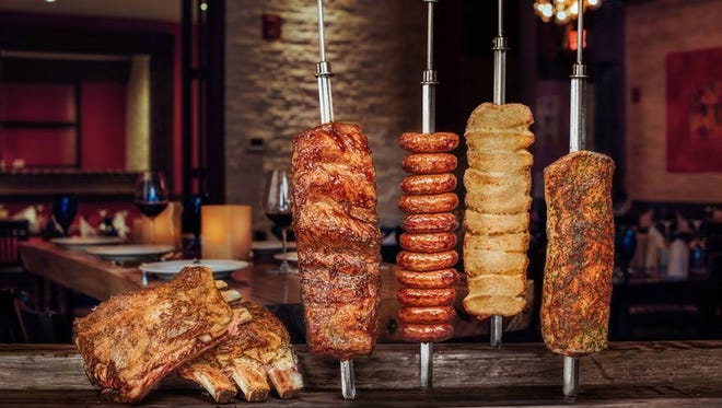 Texas de Brazil is a Brazilian-style steakhouse, offering unlimited quantities of grilled meats for a set price.