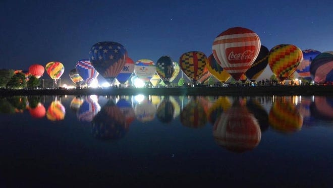 The 13th annual Gulf Coast Hot Air Balloon Festival returns to Foley, Ala. Friday and Saturday.
