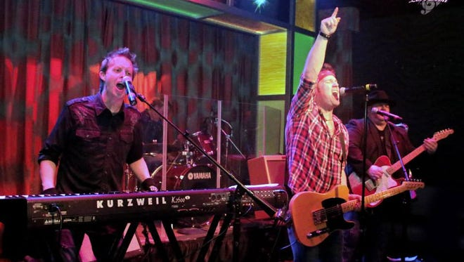 The E Street Shuffle onstage at The Golden Nugget