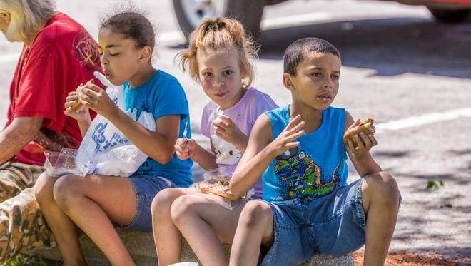 Colonial School District started a mobile summer food program in 2015, bringing lunch to children in their neighborhoods.
