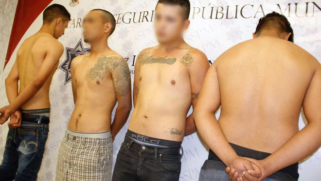 Juárez police arrested four alleged members of a Mexicles gang hit squad during the weekend.