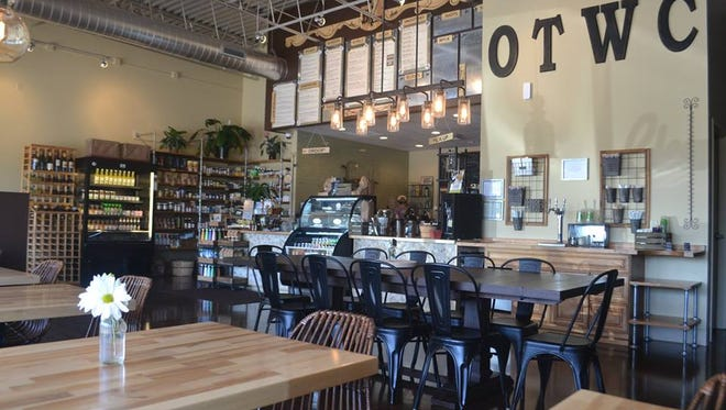 On the Way Cafe, 6005 W. Mequon Road in Mequon, serves items such as smoothies and juices, grains-and-greens bowls, salads, sandwiches and  grass-fed beef and other burgers.