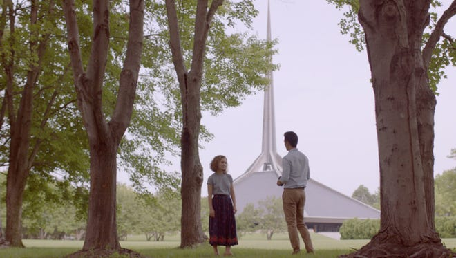 "John Cho and Haley Lu Richardson star in ""Columbus."""