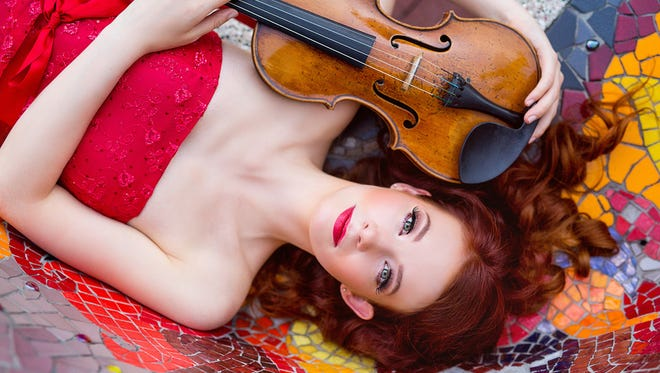 Award-winning violinist Chloé Trevor will perform with the El Paso Symphony Orchestra on Friday and Saturday at the Plaza Theatre.