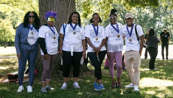 SOFIA volunteers honored at the 7th Annual Walk Against Domestic Violence