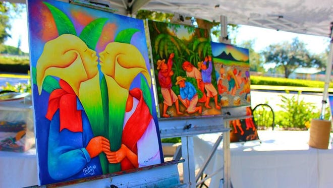 Artwork by Pedro Chavajay, pictured, was featured at a  past ArtFest sponsored by The El Sol Center.