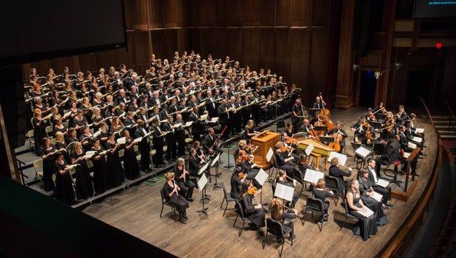 TCC Chorus performs 'An Evening of Bach,' on April 30