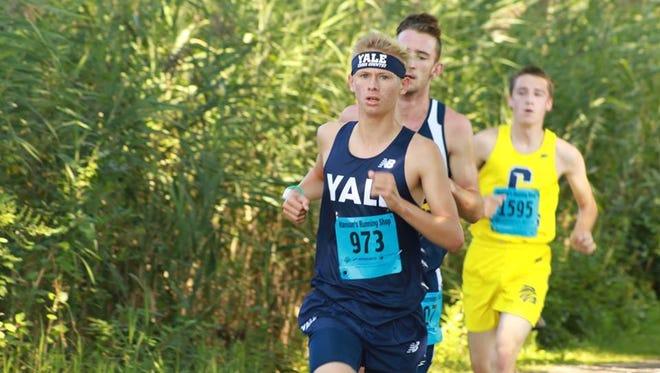 Yale High School sophomore Brendan Zisler.
