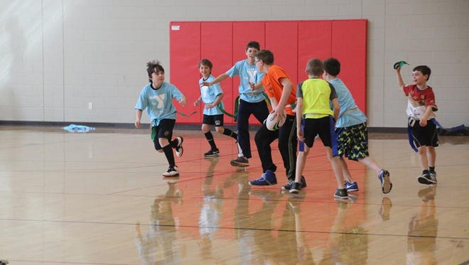 Boys and girls in first through eighth grade are invited to play flag rugby for free from 5:30 to 7 p.m. on Thursdays in February in the STEM Academy Gym gym, 401 S. Military Road, Fond du Lac.