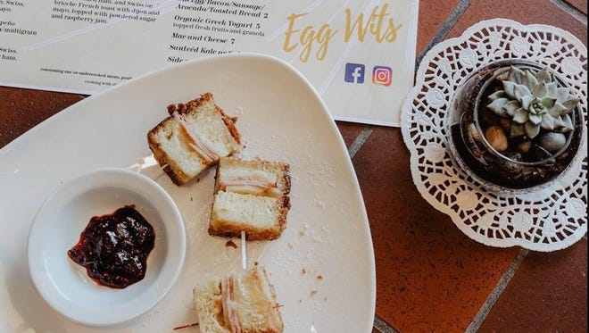 Egg Wits, located at 505 Brent Lane in Pensacola, offers your traditional brunch fare, made with local and organic ingredients.