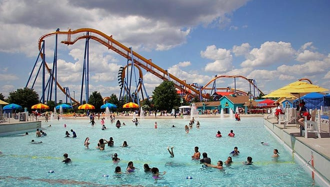 A look at Dorney Park's Wildwater Kingdom on a hot summer day.