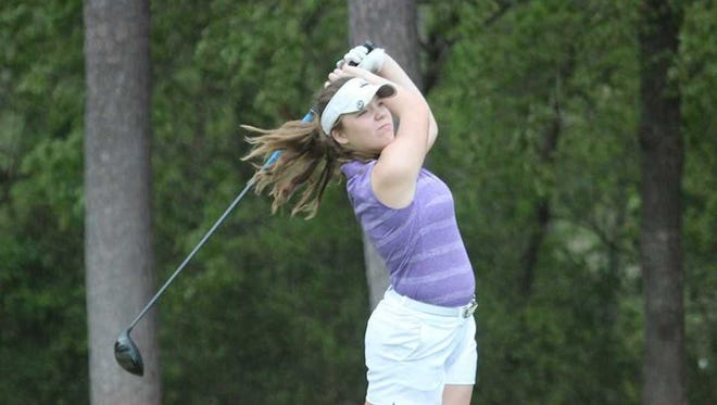 Faith Johnson, 14, will be among the youngest in the field at the 2018 Courier & Press Women's City Tournament.
