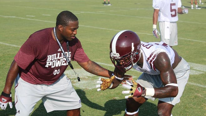 Mississippi State cornerbacks coach Deshea Townsend