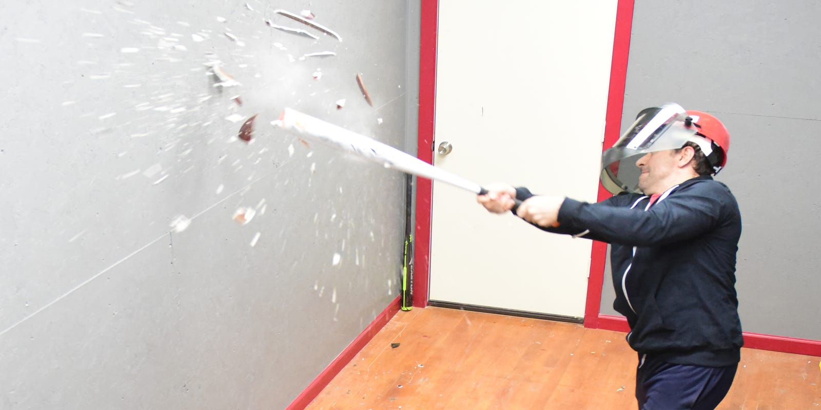 At the Rage Room, let your anger out