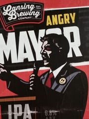 The popular Lansing beer that pays tribute to Mayor