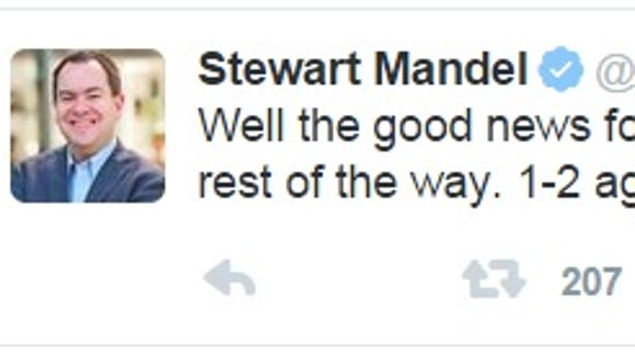 And Stewart Mandel, too.