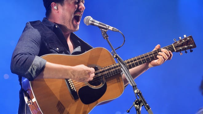 On the band's newest album, lead singer Marcus Mumford attempts to placate poor songwriting with impressive vocals.