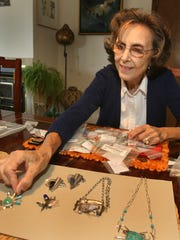 Anne Rob, a jewelry artist who will be featured in