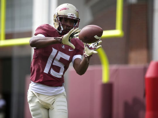 Rudolph had a strong spring practice, receiving praise from his coaches and teammates,