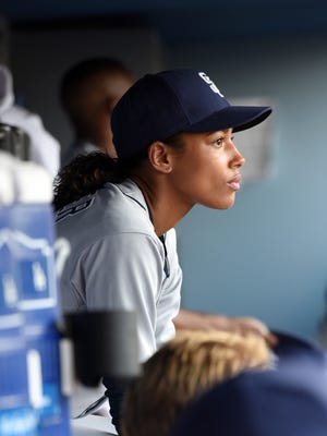 Kylie Bunbury in Fox's 'Pitch.'