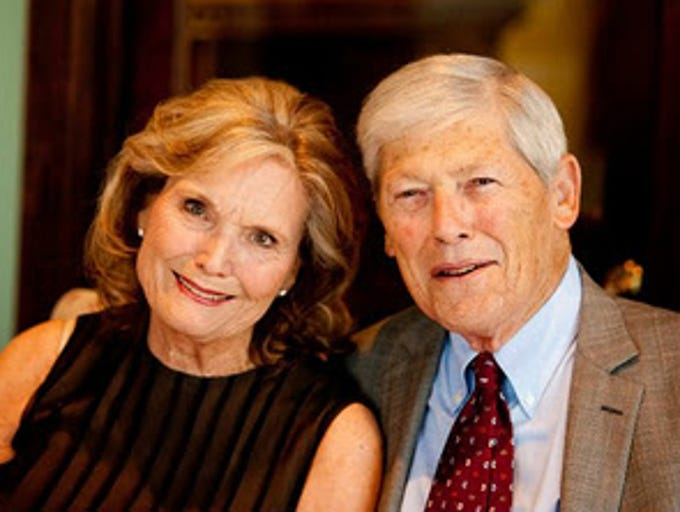 Glenna and Lawrence Shapiro of Paradise Valley. The