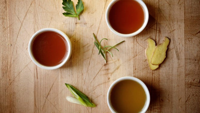 Bone broth is packed with anti-inflammatory power.