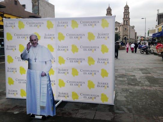 Ciudad Juárez ya se alista para recibir al Papa Francisco.