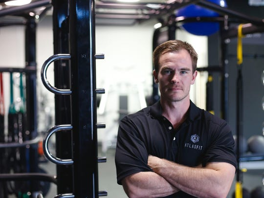 Matt Molnar, owner and trainer at Atlas Gym.