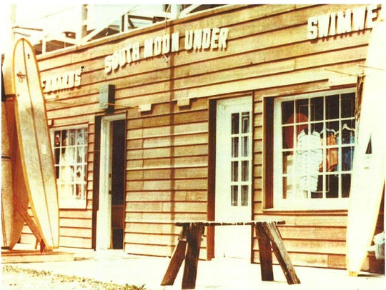 A photo of South Moon Under's original Ocean City storefront.