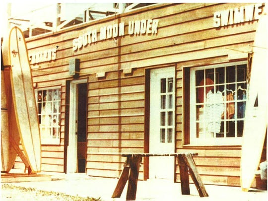 A photo of South Moon Under's original Ocean City storefront. Courtesy of South Moon Under.