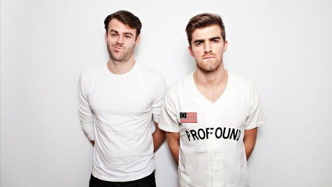 The Chainsmokers will perform May 20 at the KFC Yum! Center.