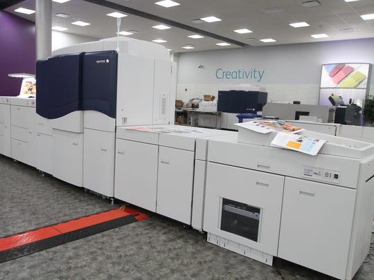 The Xerox iGen 5 printer has increased its PANTONE