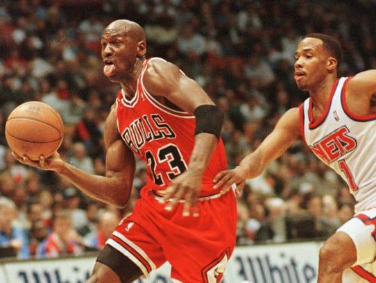 Michael Jordan, ex jugador de los Bulls de Chicago,