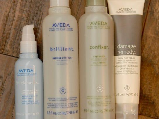 Stylemaker Jennifer Morgan loves Aveda hair products,