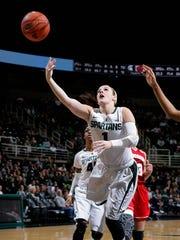 Tori Jankoska averaged 15.1 points last season as a
