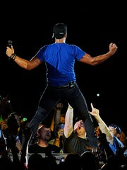 "Luke Bryan's last album, ""Crash My Party,"" sold more"